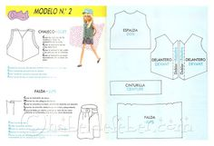 Feber Chabel Patterns Chabel (Spanish Licca doll clothes)