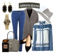 """Almost All Armani"" by hastypudding ❤ liked on Polyvore featuring Armani Jeans, Etro, rag & bone, Emporio Armani, Kendra Scott, Giorgio Armani, jeans, armani, fashionset and cocooncoat"