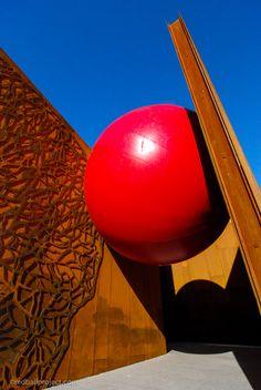RedBall Project, Scottsdale, Artist: Kurt Perschke #redballproject