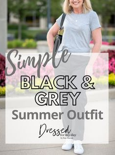 Wearing neutrals for summer - summer neutrals outfit - fashion women over 50 - over 50 summer outfit - wearing black in summer Fashion Bloggers Over 40, Fashion For Women Over 40, Fashion Women, Fashion Ideas, Women's Fashion, Summer Dress Outfits, White Outfits, Neutral Outfit, Pretty Pastel