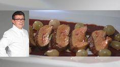 Foie Gras au Pain d'Epice et sauce aux Raisins -  Recette Top Chef de Christian Constant