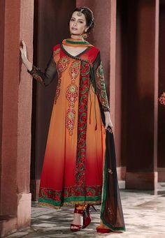 Angrakha Designs Embroidered Shalwar Kameez http://clothingpk.blogspot.com/2015/04/angrakha-designs-shalwar-kameez-suits-2015.html