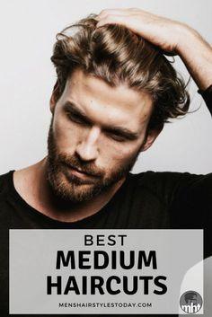 Best Medium Length Haircuts For Men - Cool Men's Hairstyles For Medium Hair