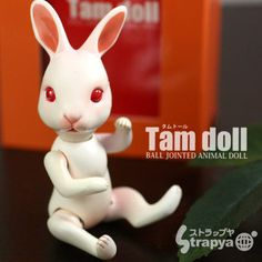 Tamdoll Ball-Jointed Animal Doll Rabbit Series