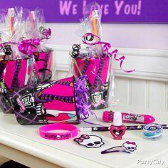 monster high party ideas   Monster High Party Ideas: Favors