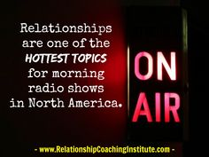 Believe it or not, even in today's age of smart phones, Netflix and the internet, research shows that 90% of U.S. adults still tune in to AM/FM radio every week (hard to believe in today's world, but true).  Imagine speaking in front of 50,000 listeners for free!   http://www.relationshipcoachinginstitute.com/how-to-get-clients-on-the-radio/  #Relationship #Coaching #RCI #clients #marketing #business #niche #radioprogram