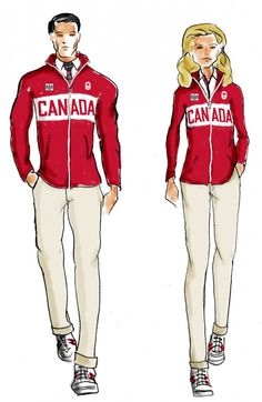 Olympic Style: The Perfect Uniform | The Look | ClearlyContacts.ca – Eyewear + Fashion