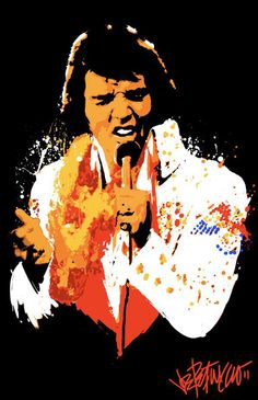 Joe Petruccio: Art That Rocks, Elvis The King
