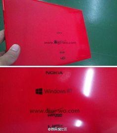 Rò rỉ ảnh chụp tablet Windows RT của Nokia