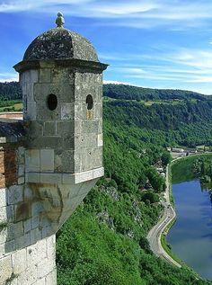 Besançon - citadelle, détail