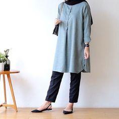 Modern Hijab Fashion, Street Hijab Fashion, Hijab Fashion Inspiration, Korean Fashion Casual, Muslim Fashion, Casual Hijab Outfit, Hijab Chic, Mode Hijab, Everyday Outfits
