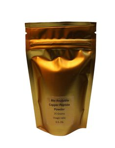 100% PURE BioFerment Copper Peptide Powder Skin, hair, Great skin regenerator! Makes up to 1.5 gallons of copper skin or hair product