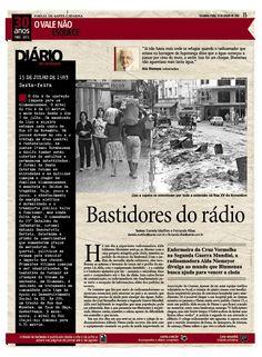 Bastidores do rádio. Acompanhe também em www.santa.com.br Edição: Cleisi Soares / Textos: Daniela Matthes e Fernanda Ribas / Design: Aline Fialho