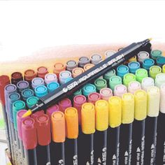 Watercolor Brush Pens® – jungole Free Photography, Photography Tutorials, Watercolor Brush Pen, 3d Cnc, Pens, Om, Arts And Crafts, Board, Life