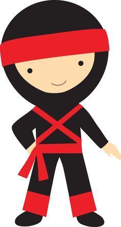 ninja 4 by gdj ninja printables pinterest rh pinterest com ninjago clip art ninja clip art for kids