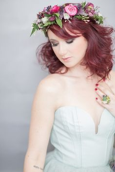 BRIDE CHIC: Search results for THE FLORAL HEAD WREATH