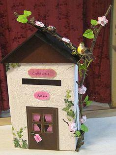 urne mariage boite aux lettres mariage pinterest. Black Bedroom Furniture Sets. Home Design Ideas