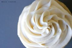Dairy Free & Soy Free Buttercream Frosting - delia creates... Instead of butter... Maybe 1/2 palm shortening and 1/2 coconut oil...