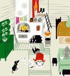 Colia et le chapeau de cow-boy | aurelie guillerey via www.lookatthesegems.com/