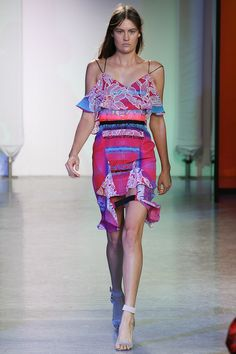 Peter Pilotto Spring 2014 Ready-to-Wear Collection Slideshow on Style.com