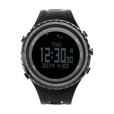 Sunroad Wasserdichten Outdoor-sportarten Smartwatch männer Digitale Backlit Schrittzähler Höhenmesser Barometer Kompass Stoppuhr Angeln Watch //Price: $US $118.85 & FREE Shipping //     #smartuhren