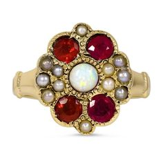 10K Yellow Gold The Dalia Ring from Brilliant Earth