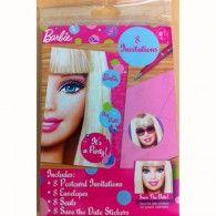 8 x Barbie Girls Birthday Party Invitations Invites Supplies Barbie Invitations, Personalised Party Invitations, Birthday Party Invitations, Birthday Parties, Invites, Barbie Birthday, Barbie Party, Girl Birthday, Wholesale Party Supplies