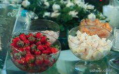 Frutas para os brothers prepararem seus drinks