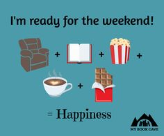 Are you ready for the weekend? #booklovers #amreading #bookworms