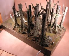 In Progress » Dagobah Diorama » Seaweed | FichtenFoo