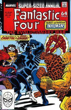 Fantastic Four Annual 21