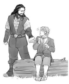 Fffff This was really beautifully written. I only saw it by chance (If you guys ever write anything you should let me know because I *will* miss it.) At first I was like 'Awwww thorin! O Hobbit, Hobbit Hole, Tolkien Books, Jrr Tolkien, Loving Him Was Red, Lotr Elves, Bagginshield, Ship Drawing, Thorin Oakenshield