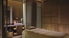 Treatment Room - The Ritz-Carlton Spa features seven luxurious treatment rooms, including one couple's suite.