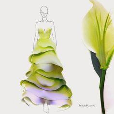 Toda a beleza da natureza inspirando Moda