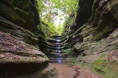 French Canyon - at the end of Starved Rock State Park (photo by Bruce Bley)