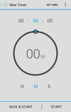 Simple, beautiful timer app for Android:  https://play.google.com/store/apps/details?id=com.opoloo.holotimer