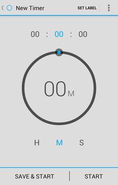 83 Best Mobile Timer images in 2016 | App design, Ui design