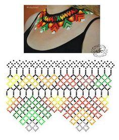 Do It Yourself With Beaded Jewelry Diy Necklace Patterns, Bead Loom Patterns, Beaded Jewelry Patterns, Beading Patterns, Seed Bead Jewelry, Bead Jewellery, Beaded Crafts, Bead Crochet, Beading Tutorials