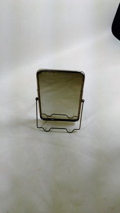Vanity Mini Shaving/Beauty Mirror/5.5 High By 3.25 Wide/ Back Has A Picture Of Susan Hayward/Clouding and Loss Of Metal Backing Along The Edges (B) - Ideal For Travel