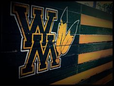 William and Mary College, Rustic William and Mary Flag, William and Mary Tribe Flag, William and Mary Wood Flag, William and Mary Baseball