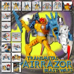 Transformers Universe - Beast Wars Transmetal Airazor
