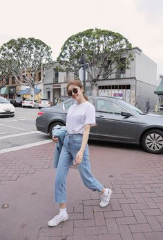 64 ideas fashion model street vogue for 2019 Korea Summer Fashion, Korea Fashion, Asian Fashion, Daily Fashion, Korean Fashion Summer Casual, India Fashion, Korean Fashion Trends, Korean Street Fashion, Fashion Models