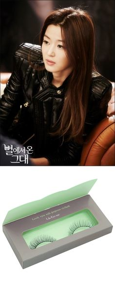 Get the look of Jeong Ji Hyeon with Piccasso's Eyeme Lashes www.piccassobeauty.net