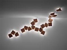 Wall & ceiling lamp WALL ART by @VIBIA - Grupo T Diffusion | Design Ramón Esteve