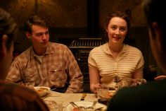 Emory Cohen and Saoirse Ronan in Brooklyn (2015).