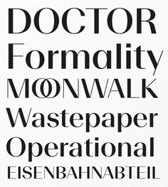 This Week in Fonts