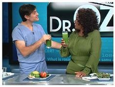 Dr Oz Green Smoothie to use with our new ninja