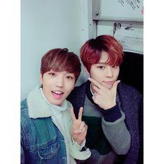 160314 Sunyoul & Wooshin's Twitter update #UP10TION #업텐션
