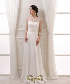49fdda6f8c 29 imágenes atractivas de Vestidos Novia Corte A