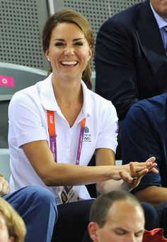 Catherine, Duchess of Cambridge during Day 6 of the London 2012 Olympic Games at Velodrome on August 2, 2012 in London, England.